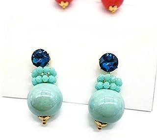 orecchini ceramica, orecchini palla, orecchini sfera, orecchini colorati, orecchini palla, orecchini