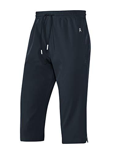 Joy Sportswear Ellie Damen Caprihose für Freizeit, Sport & Fitness Normalgröße, 42, Night