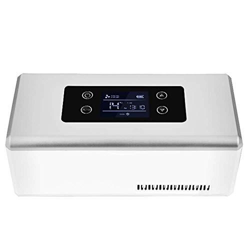Mini Nevera de Medicamentos y Enfriador de Insulina para Automóviles, Viajes, Hogar - Estuche de Refrigeración Portátil para Medicamentos