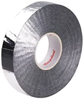 Coroplast 1238X Aluminum Foil and PET Cloth Tape, 19mm x 25m, High Temperature Automotive Wire Harness Wrapping, Engine Compartment Heat Reflective, Motorcycle Glass Fabric 3/4