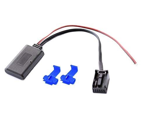 Bluetooth Aux in Adapter A2DP mp3 Musik Stream passend für Opel Corsa Astra cd30 cdc40 cd70 dvd90