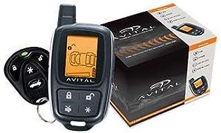Avital 5305L 2 راه LCD با استفاده از راه دور با امنیت