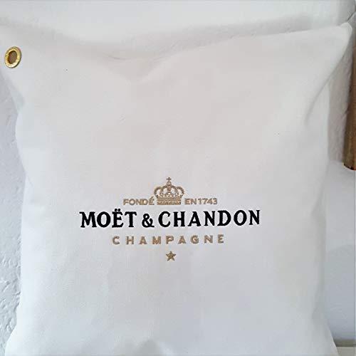 1 x MOET Kissenbezug CHANDON CHAMPAGNER Sanzibar Kissen