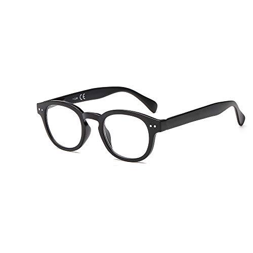 Suertree Feder Scharnier Lesebrillen Sehhilfe Augenoptik Brille Lesehilfe für Damen Herren von 1.0X BM171