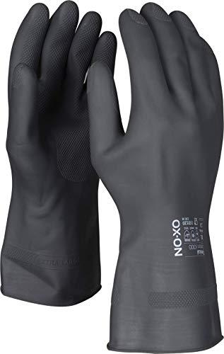HandschuhMan. OX-ON Chemikalienschutzhandschuhe schwarz Gr. 6/XS-10/XL (7/S)