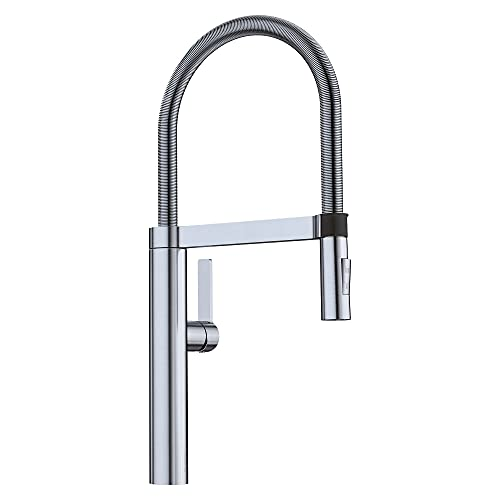 Blanco, satin nickel 441332 culina semi-pro kitchen faucet with magnetic handspray, 2. 2 gpm