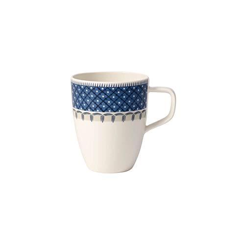 Villeroy & Boch 10-4184-9651 Mug à Anse 0,38 L Porcelaine Bleu 32,2 x 21,5 x 11,7 cm