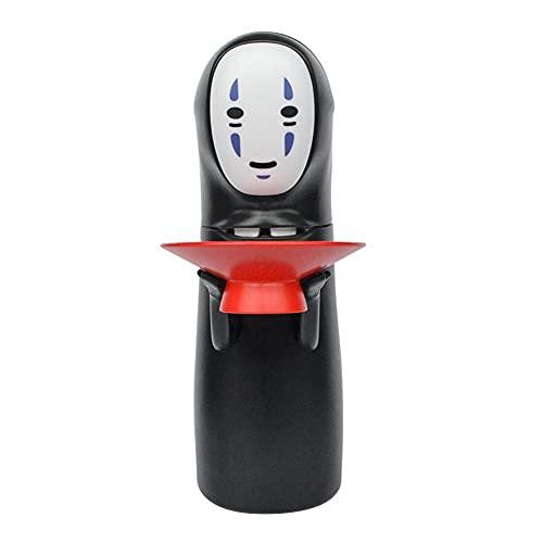 LIUKLAI Chihiros Kaonashi No-Face Sparschwein Spielzeug automatisch gegessene Spardose Miyazaki Hayao Chihiro Design