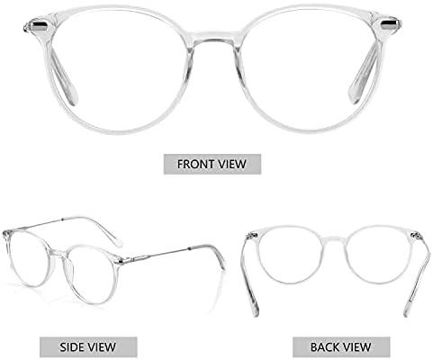 Clear plastic frame glasses _image2