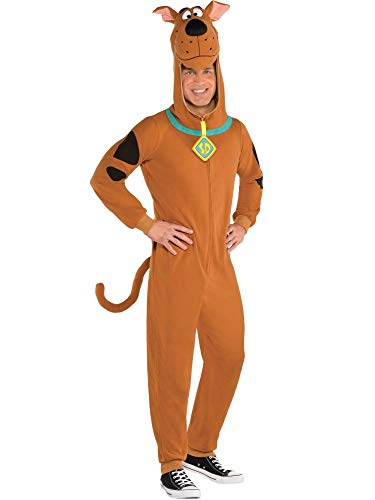 amscan Adult Mens Scooby DOO Fancy Dress Costume (Extra Large)