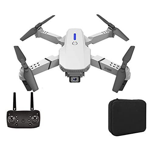 PAKUES-QO Drone Pequeño con Cámara 4K HD, Adecuado para Niños Y Principiantes, Helicóptero De Cuatro Ejes con Control Remoto con Retorno De Un Botón, Vuelo De Trayectoria