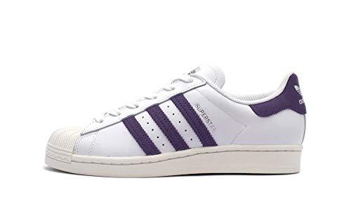 adidas Superstar W (weiß/lila) - 36 2/3 EUR · 4 UK