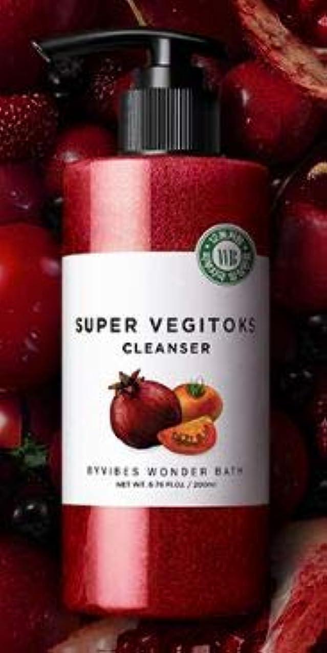 しなやか探偵与える[WONDER BATH] Super Vegitoks Cleanser 200ml /ワンダーバス スーパー ベジトックス クレンザー 200ml (タイプ : #スーパーベジトックスクレンザーレッド) [並行輸入品]