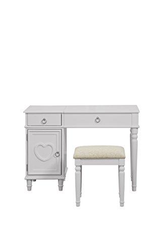 Groovy Poundex Vanities Wood White Spiritservingveterans Wood Chair Design Ideas Spiritservingveteransorg