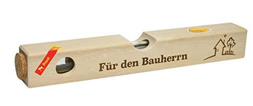 Weisenbach - Wasserwaage - Motiv: Für den Bauherrn - Waldhimbeergeist 40% vol.
