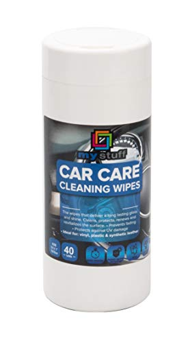 My Stuff All-Purpose Car Wipes, Sanitizing Electronics Cleaning Cloths, Fresh Scent, 40-ct.