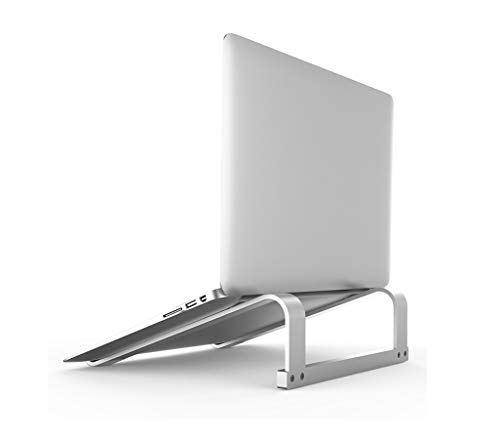 Honeymoon High Stability Laptop Stand Holder,No Shaking of Typing Simple Installation Fixed Laptop Cradle,Compatible with Microsoft Surface, MacBook Air, MacBook Pro, HP, Dell, Lenovo (Up to 17 Inch)