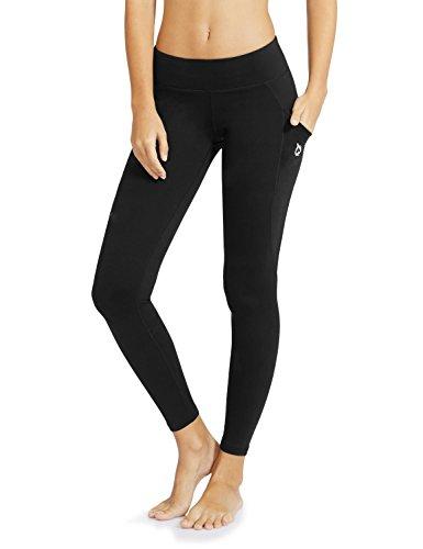 Baleaf Women's Yoga Workout Leggings Side Pocket for 5.5