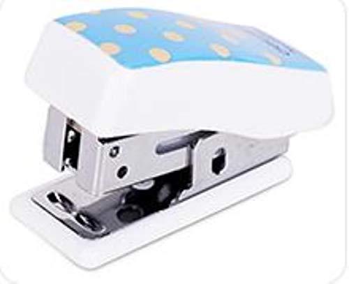 Heng Nietloze Nietmachine Effectieve Nietmachine Set Leuke Cartoon Mini Kleine Studentenbenodigdheden, wit