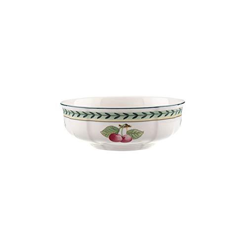 Villeroy & Boch French Garden Fleurence Coupelle à dessert, 15 cm, Porcelaine Premium, Blanc/Multicolore