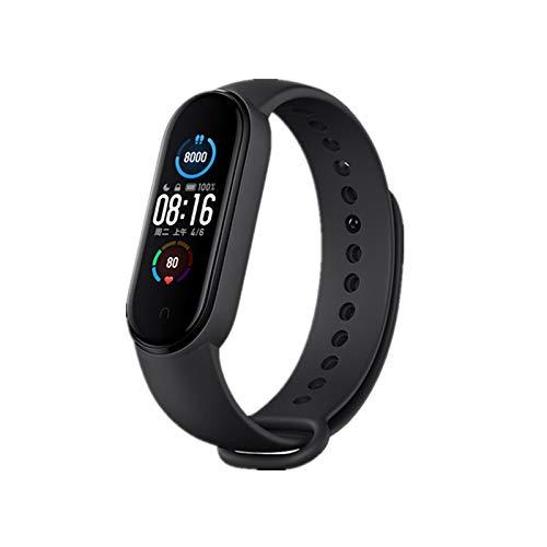 Xiaomi Mi Band 5 Pulsera de Actividad,Monitores de Actividad,Pantalla Pulsómetro Fitness Tracker, Smartwatch con 0.95