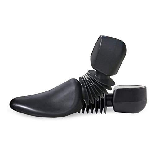 Arbol de zapatos-Camilla de zapatos Práctico Plástico Longitud ajustable Hombres Árbol Camilla de zapatos Soporte para botas, Árbol de zapatos Paquete económico para hombres, Negro (Color: Zapatos d