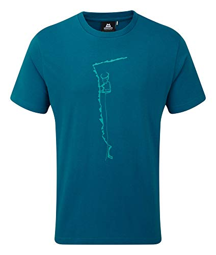 Mountain Equipment Yorik Tee Men Größe M Ink Blue Me-01410