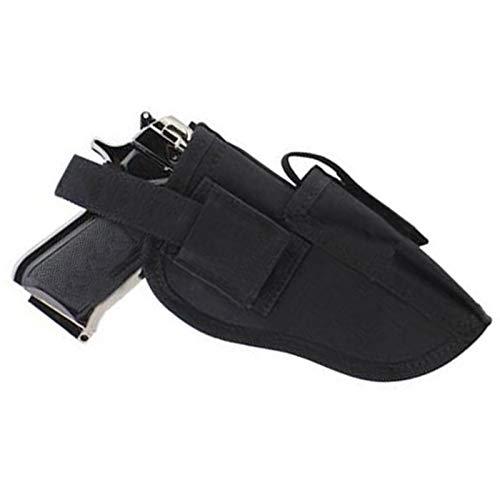 Beho ガンホルスターホルダーウエストバッグ左手用隠しクリップガンアクセサリー用品