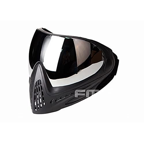 FMA Paintball Airsoft Full Face Mask Anti-Fog Goggle F1 Single Layer Lens Protective Mask