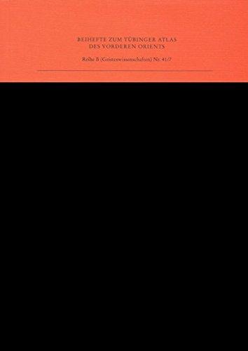 Index zu Das christlich-koptische Ägypten in arabischer Zeit (TAVO B 41/1-6) (Reihe B (Geisteswissenschaften))