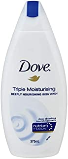 Dove Body Wash Triple Moisturising, 375ml