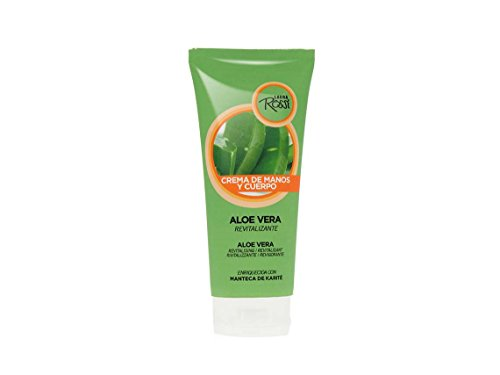 Crème pour les mains et le corps, Sans Parabens, Aloévera tube 100ml enrichie au beurre de karité, hydratation et confort, soin pour les mains et le corps