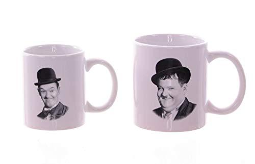 Laurel & Hardy Tasse Dick & Doof 2er Set