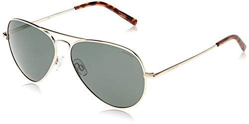 Polaroid PLD 1017/S H8 Occhiali da sole, Oro (Light Gold/Green Pz), 60 Unisex-Adulto