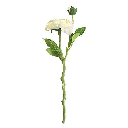 Hniunew Möbel BlüTenblatt Dekoration Zu Hause Balkon Tee Rose KüNstliche Blume Hochzeitsfeier Simulation Blume GefäLschte Hortensie Blume Kopf NachfüLlbar Bouquet Hochwertige Elegante Blume