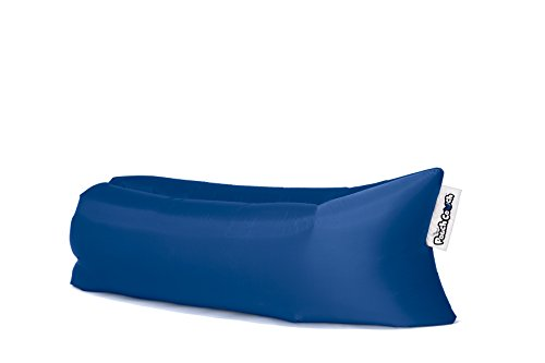 Pouch Couch The Official As Seen On TV Inflatable Air Lounger, Navy