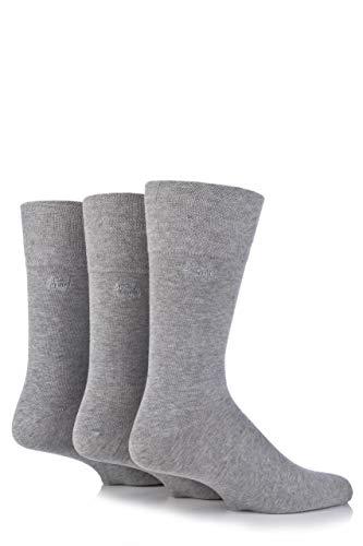 Mens Pringle 3 Pack Soft Grip chaussettes Dunvegan L2400 7-11