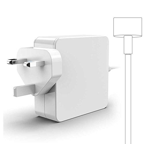 Rocketek Compatible With Mac Book Pro Charger, Replacement 85W Magnetic 2 Power Adapter For Mac Book 13' & 15' & 17' Inch(Made After Mid 2012)—A1398/A1425/A1435/A1465/A1502