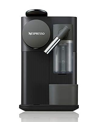 Nespresso by De'Longhi Lattissima One Original Espresso Machine with Milk Frother by De'Longhi, Black