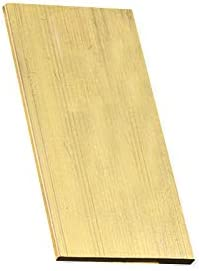 Max 51% OFF XMRISE Brass Sheet free shipping Square Flat Bar Copper Me Plate Pad Row Stick