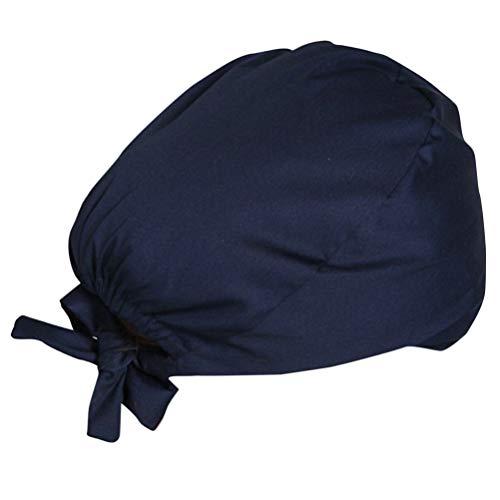 Exceart OP Haube Baumwolle Chirurgische Hut Verstellbar Kochmütze Kopfhauben Peeling Kappe für Arzt Krankenschwester Zahnarzt Chemo Bandana Medizinische Kopfbedeckung