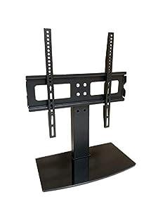 LG 49UJ651V ZA - Soporte de mesa de repuesto para televisor, color negro