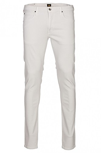 Lee Luke Jeans Vaqueros, Blanco (White Light), 31W / 34L para Hombre