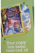 The Princess and the Frog (Debut on March 16th) the Original Movie on 3 DVD in One [Blue Ray-dvd and Digital Dvd] Tiana