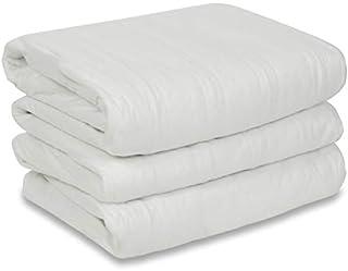 Sunbeam Heated Mattress Pad   Polyester, 10 Heat Settings , White , Queen - MSU1GQS-N000-11A00