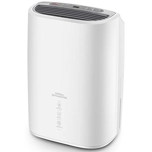 Review DW&HX Compact Quiet Dehumidifier for Home, Portable Auto Shut Off Energy Saving Dehumidifiers...