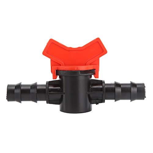 HAOXIU 5 Stück Bewässerung Schlauch, Ventil Schlauch Absperrventil, PE Schlauch Ventil Kraftstoff Schalter Gartenschlauch Absperrventile Schlauch Rohr Ventil für Wasserschlauch 16mm