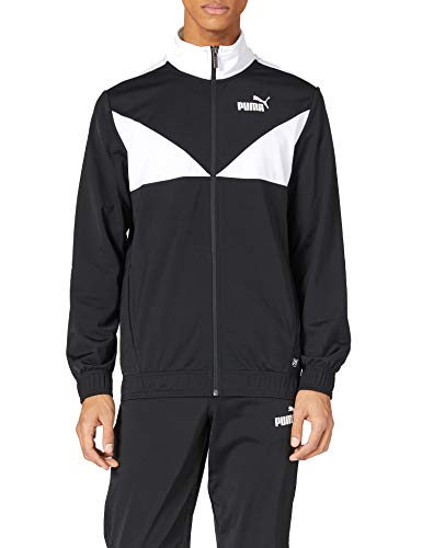 PUMA Herren Classic Tricot Suit cl Trainingsanzug, Black, L