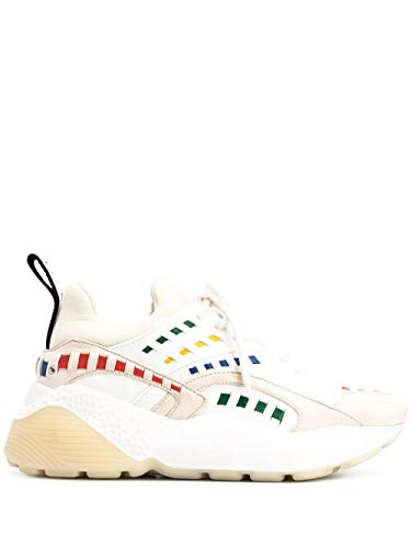 Luxury Fashion | Stella Mccartney Dames 800022N00229099 Wit Polyurethaan Sneakers | Lente-zomer 20