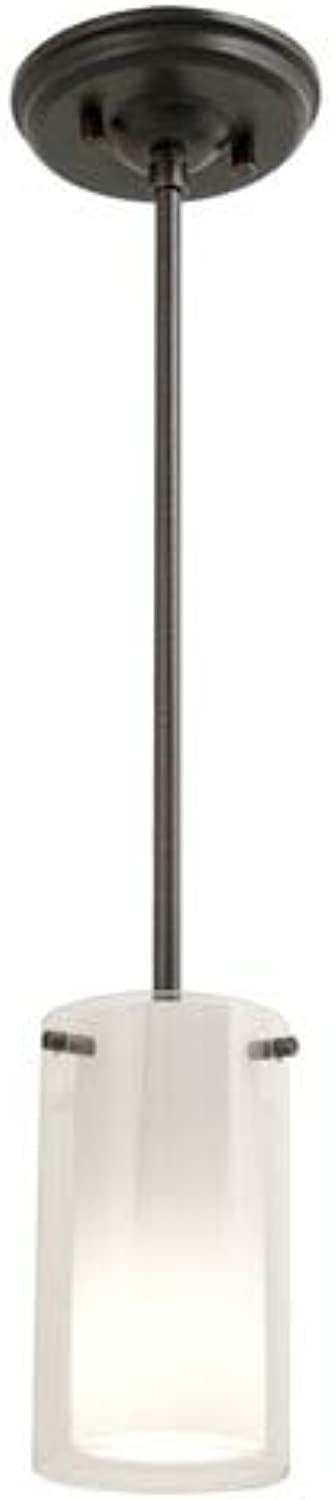 DVI Lighting DVP9019ORB-OP Pendant with Opal Glass Shades, Oil Rubbed Bronze Finish